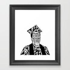Michael Brown - Black Lives Matter - Series - Black Voices Framed Art Print