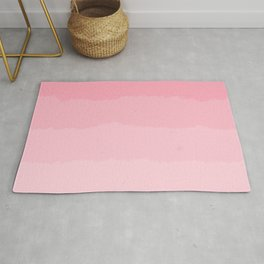 Light Pink Cloud Layers Rug