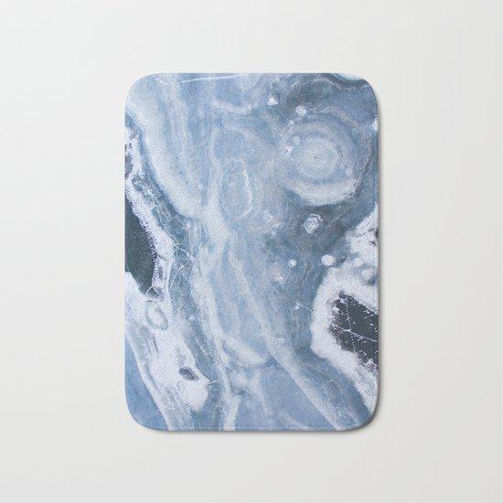 Earth blue Bath Mat