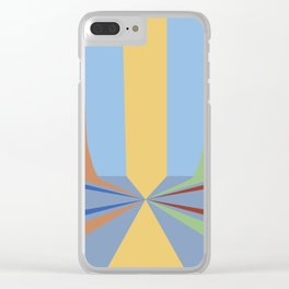 The Rainbow Room Clear iPhone Case