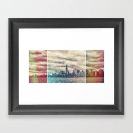 NYC Light Leak Framed Art Print