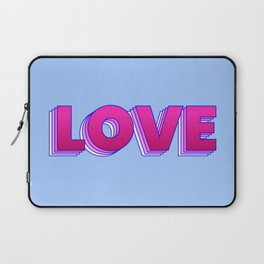 LOVE is a magic word Laptop Sleeve