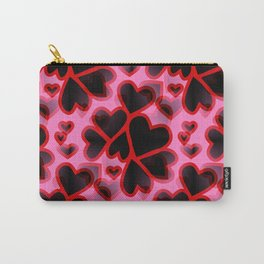 Explosion Of Hearts Carry-All Pouch