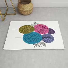 Forest Tree Rug