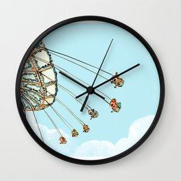 La Fete Foraine Wall Clock