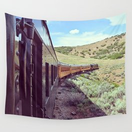 The Heber Valley Railroad Express Wall Tapestry