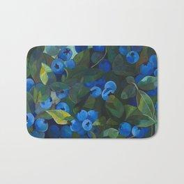 A Blueberry View Bath Mat