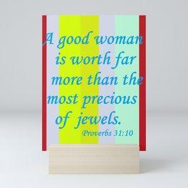 A Good Woman Mini Art Print