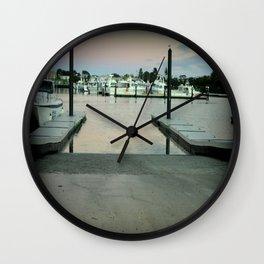 Early morning at Robe, South Australia Wall Clock