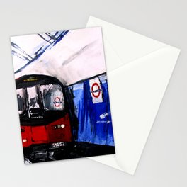 London Underground Northern Line Fine Art Stationery Cards
