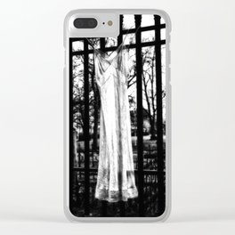 Memories Of A Ghost Clear iPhone Case