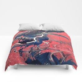 monoprint #1 Comforters