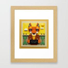 Because I'm a wild animal Framed Art Print