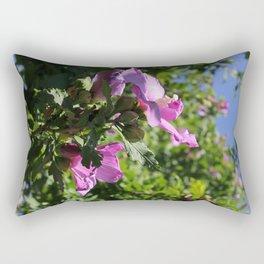 Rose of Sharon Rectangular Pillow
