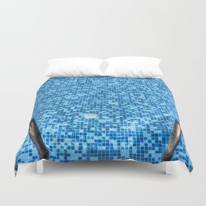 Summer Swimming Pool Duvet Cover