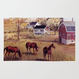 Nova Scotia, CANADA                             by Kay Lipton Rug