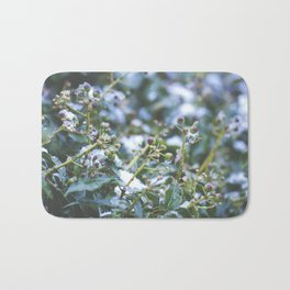 Winter Ivy Berries - Nature Photography Bath Mat