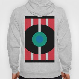 Abstract Eye Geometric Art Minimal  Hoody