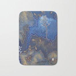 Get Cozy Botanical Abstract Bath Mat