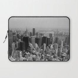 New York City Black and White Laptop Sleeve