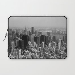 New York City Black and White Laptop Sleeve