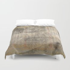 Time passing by Duvet Cover