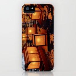Japanese floating lantern iPhone Case