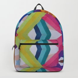 Striped Mosaic Backpack