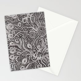 Textile 5 Stationery Cards