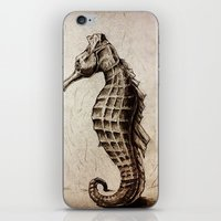 seahorse iPhone & iPod Skins featuring Seahorse by Werk of Art