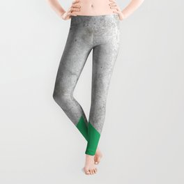 Concrete Arrow Green #175 Leggings
