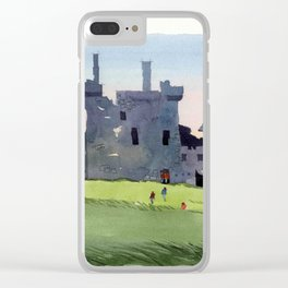 Kilchurn Castle, Scottish Highlands Clear iPhone Case