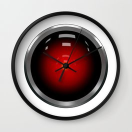 hal 9000 Space Odyssey Wall Clock