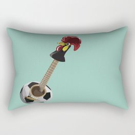 fado, soccer,and a cock from barcelos Rectangular Pillow
