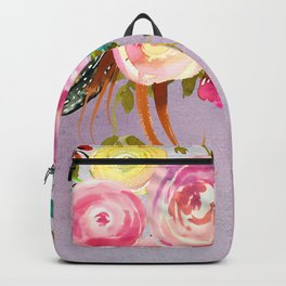 Flowers bouquet #40 Backpack