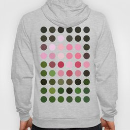Pink Roses in Anzures 3 Dots Hoody