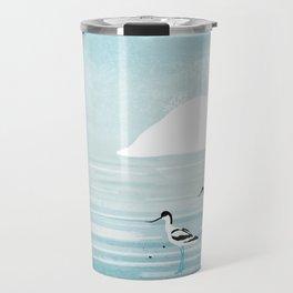 Avocets Travel Mug