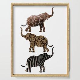 animal print Serving Tray