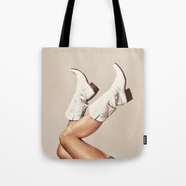 These Boots - Neutral Tote Bag