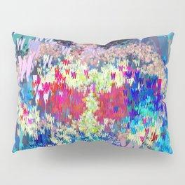 Wonder Type Woman - Abstract Pop Art Comic Pillow Sham