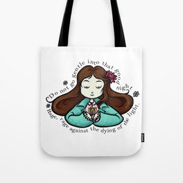 amy's quote Tote Bag