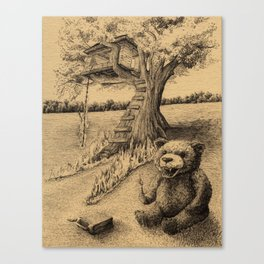 The Treehouse Canvas Print