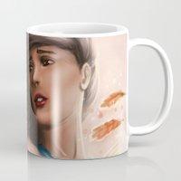 pocahontas Mugs featuring Pocahontas by TheEmpa