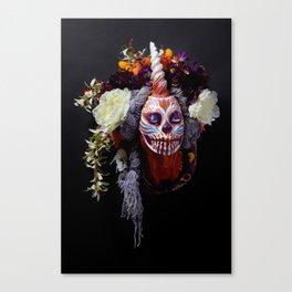 Tiger Blossom Muertita Canvas Print