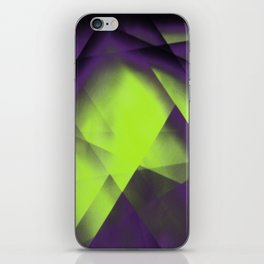 Purple Color Package iPhone Skin