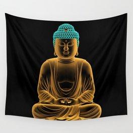 Buddha glow Wall Tapestry