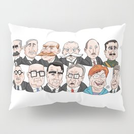 Presidents of Finland Pillow Sham