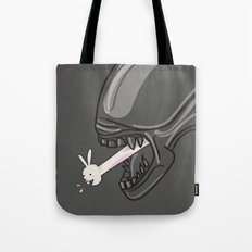 Alien?! Tote Bag