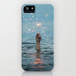 Water Firefwork iPhone Case