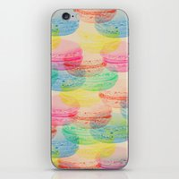 macaroon iPhone & iPod Skins featuring Macaroon Madness by Tyler Spangler